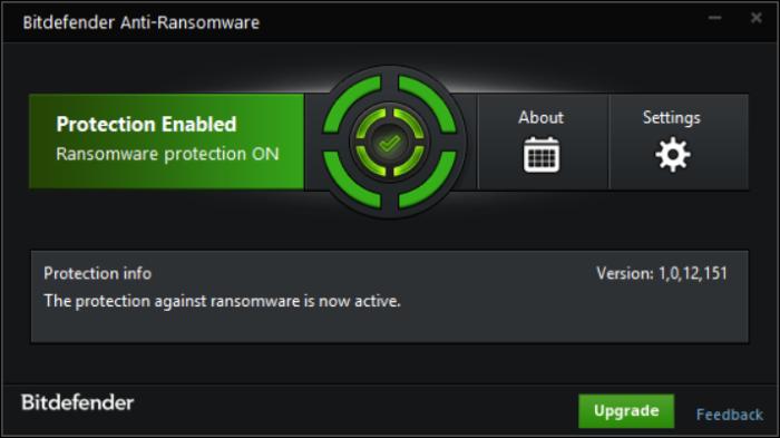 Anti-Ransomware Bitdefender